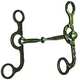 Western AT Silver Barbwire Snaffle Argentine Bit