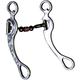 Western AL Engraved Dogbone Long Shank Bit