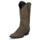 Justin Ladies 12in Classic Western Boots 10W Bay
