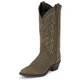 Justin Mens Round Toe 13in Bay Western Boot 14EE