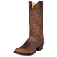 Justin Mens Round Toe Bay Western Boots 14EE