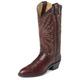 Justin Mens Rnd Toe Dark Brn Deerlite Boots 14EE