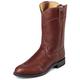 Justin Mens 10in Chest Deerlite Roper Boots 14EE
