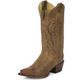 Nocona Ladies Fashion Pointed 11in Tan Boots 10