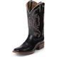 Nocona Ladies Fashion Square 11in Black Boots 12
