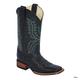 Ferrini Mens Cowhide Square Toe Boots 13D Black