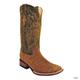 Ferrini Ladies Print Suede Alligator Boots 10 Tau