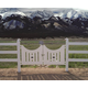 High Country Horse Gate White