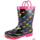 Smoky Mountain Childs Ponies Rubber Boots 3 Pink