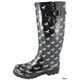 Smoky Mountain Ladies Ponies Rubber Boots 11 Multi
