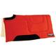 Circle Y Microsuede Cutback Built-Up Pad Red