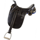 Kimberley Stock Saddle with Horn 19M Brown