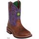 John Deere Childrens Classic Pull-On Boot 1 Tan