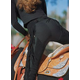 Hobby Horse Girls PMS Split Leather Chaps XL Black