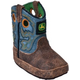 John Deere Crib Series Sq Toe Pull-On Boots 4 Tan