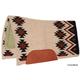 Mustang NZ Wool Aztec Contoured Pad Cream/Black
