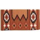 Mustang Laredo Navajo Saddle Blanket Rust/Black