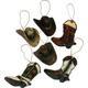 Cowboy Ornaments 6 Pack