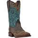 Dan Post Ladies Bluebird Sq Toe Western Boots 10