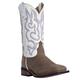 Laredo Ladies Mesquite Western Boots 10 White