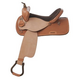 Nash Leather Pace Breaker Barrel Saddle 16in
