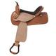 Nash Leather Bear Valley Barrel Saddle 16in