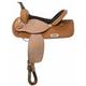 Nash Leather Plains Short Horn Barrel Saddle 16in