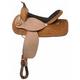 Nash Leather Out West Barrel Saddle 16in