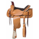Nash Leather Grand Prairie Roper Saddle 17in