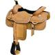 Billy Cook Saddlery Jones Calf Roper Saddle 16.5In