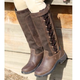 Dublin Ladies Pinnacle Boots 10 Chocolate