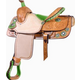 Billy Cook Saddlery Combs Ostrich Saddle 14.5In Pi