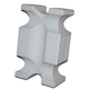 Horsemens Pride Jump Blocks Set of 2 White