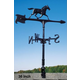 Horse Accent Weathervane 30in Black