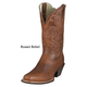 Ariat Ladies Legend Boots 7 1/2 Chocolate Chip