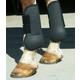 Basic Open Front Neoprene Padded Boots Black