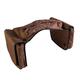 Western 600 Denier Insulated Saddlebag Brown