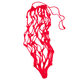 Nylon Knotted Hay Net Red