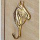 Brass Horsehead Hook