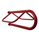 Wall Mount Saddle Rack Red