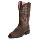 Ariat Ladies Heritage Stockman 9.5 Driftwood Brown