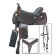 American Saddlery Trails Edge Saddle Package 17in