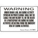 Equine Liability Signs ALASKA