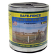 Safe Fence 1 1/2in Wide Poly Tape 825 Ft White