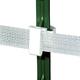 Safe-Fence T Post Polytape Insulator 25 Pk White