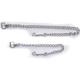 Basic Nickel Plaited Stud Chain 20 Inch