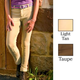 TuffRider Childs Ribb Low Rise Breeches 8  Taupe