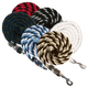 Basic Cotton Multi-Color Lead Rope Red/Black