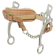 Western CP Fleece Lined Hackamore with Curb Strap