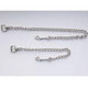 Basic Nickel Plaited Stud Chain 30 Inch